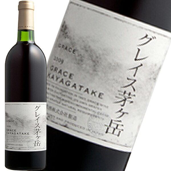 【中央葡萄酒】グレイス茅ヶ岳 赤(赤ワイン/勝沼)