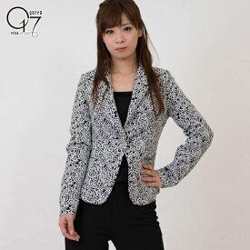 【3980円送料無料】ペイズリー柄テーラードジャケット (jacket-30)