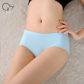 【店舗改装最終値下げ】シンプルデザインのシームレスショーツ (shorts-04)