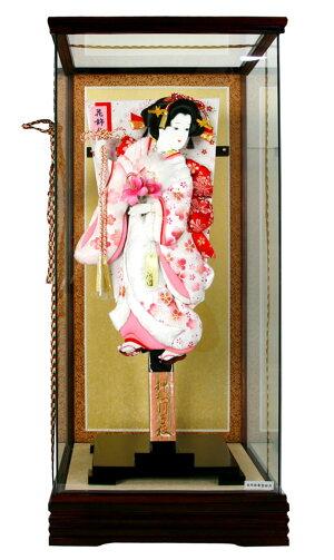 ケース飾り花飾り押絵羽子板