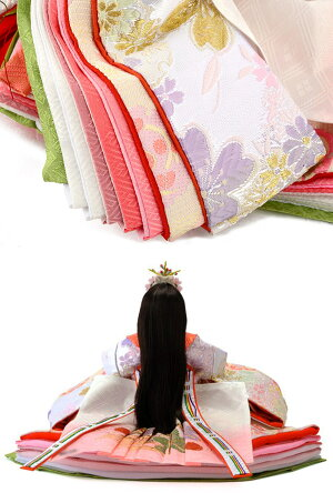 平飾り親王飾りシリアル入【リカちゃん】【久月×タカラトミーオリジナル】