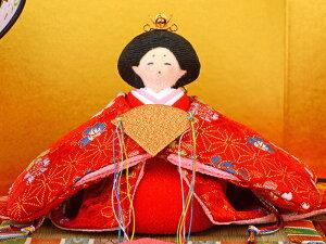 平飾り親王飾り京雛桃の節句花屏風付【2020年度新作】