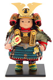 五月人形 幸一光 松崎人形 子供大将飾り 人形単品 海 かい 黒小札 縹威 YaekoProject 【2021年度新作】 h035-koi-5812