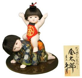 五月人形 久月 金太郎 平飾り 木目込人形飾り 浮世人形 杉田明十志原作 【2021年度新作】 h035-k-s-7