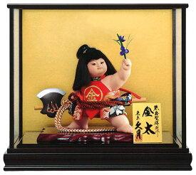 五月人形 久月 金太郎 ケース飾り 浮世人形 熊倉聖祥原作 裸金太 鉞(着付) 8号 賢印8 【2021年度新作】 h035-k-kenin8-702 D-74