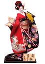 日本人形 尾山人形 人形単品 寿喜代作 頭原作 熊倉聖祥 極上本頭 慶祝 正絹 金彩 入目 12号 【2016年度新作】 sk-gokujo368
