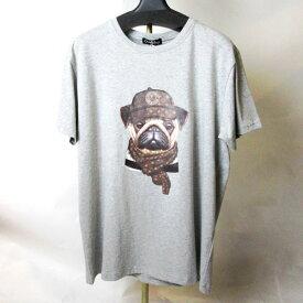 chill&buy street チル&バイ 2020SS Tシャツ パロディーTシャツ スペイン製 セレブレティー 大人可愛い ヴィトン&ブルドック柄