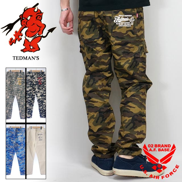 テッドマン リップストップパンツ TEDMAN devil-sp1100