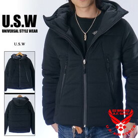 アウトレット!!ユニバーサルスタイルウェアー スタンドフードジャケット UNIVERSAL STYLE WEAR 674990
