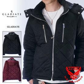 アウトレットセール!!グラディエイト キルティング中綿ジャケット メンズ GLADIATE 484071