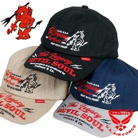 テッドマン ツイル コットンキャップ 帽子 メンズ TEDMANS tdc6-8000