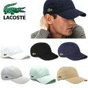 LACOSTE ラコステ RK9811 スポーツキャップ 帽子 キャップ ベースボールキャップ オールシーズン メンズ 男性用 レデ…