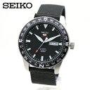 【逆輸入 SEIKO】SEIKO5 SPORTS(セイコーファイブ スポーツ)自動巻 SRP667K1 オートマティック ブラック 黒色 ミリ…