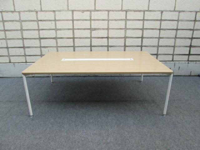 イトーキ コムネット エーディ グループテーブル デスク W2100×D1400 【中古品】