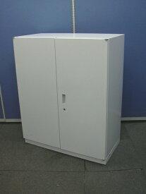 【中古オフィス家具】両開き書庫 イトーキ H1100 シンライン(鍵1個付き)W9色 中古
