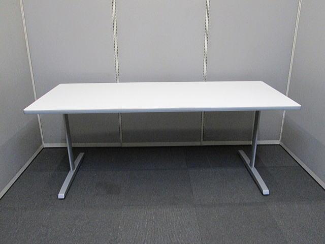 オカムラ 8177シリーズ【中古品】会議テーブル W1800×D750 オフィス家具