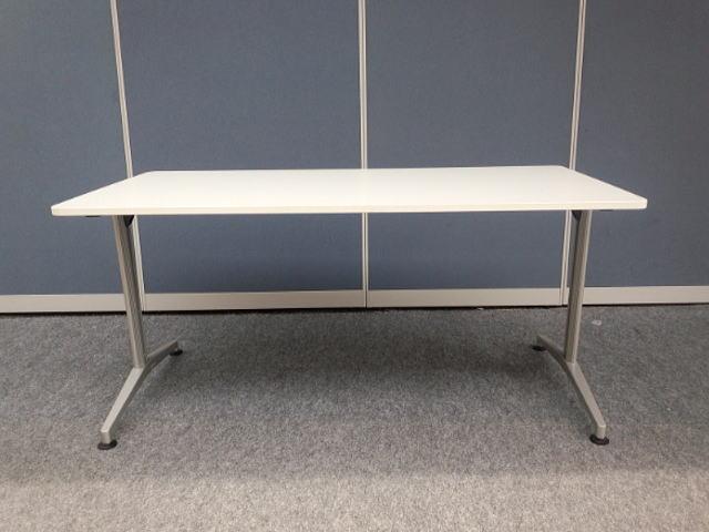 【中古品】イトーキ DEシリーズ W1500 T字脚 角型 ミーティングテーブル