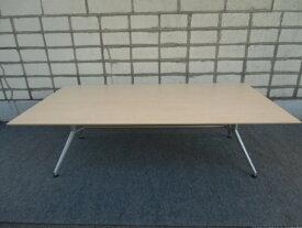 W2400×D1200 ミーティングテーブル【中古品】イトーキ オフィステーブル 8〜10人用