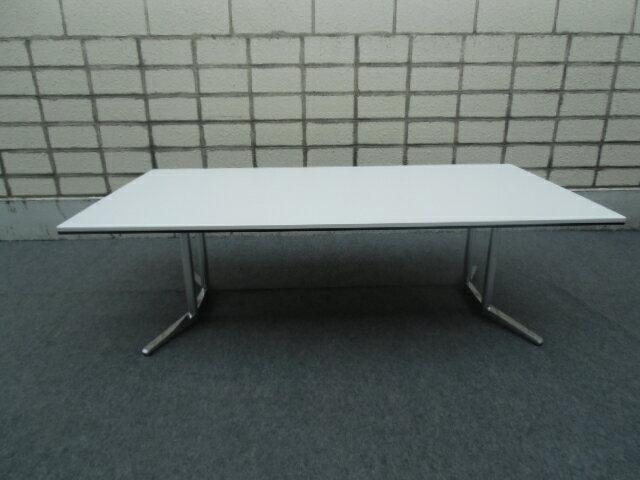 オカムラ 会議テーブル RATIO2 幅2400【中古品】