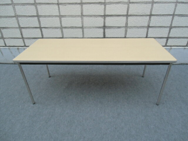 【中古品】イトーキ DRC W1800xD750 ミーティングテーブル 4本脚