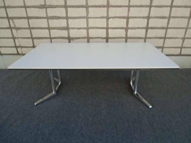 オカムラ RATIO2 会議テーブル 幅2100【中古】