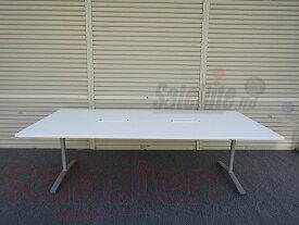 【中古】コクヨ VIENA 会議テーブル 天板固定タイプ【配送先が指定地域のみの販売】