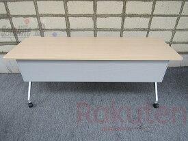 【中古】折り畳み式テーブル コクヨ 棚無し【配送先が指定地域のみの販売】