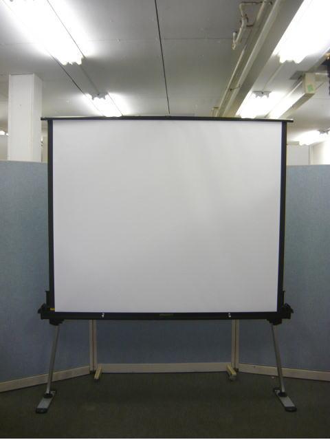 自立式スクリーン 80インチ 携帯型