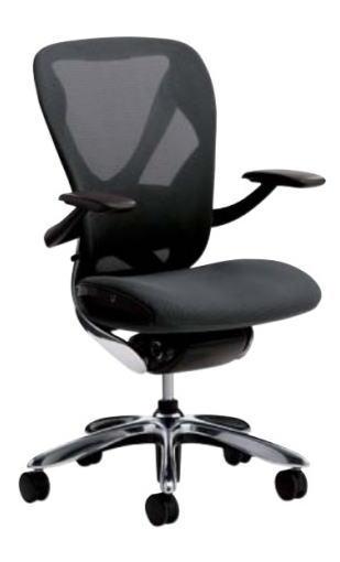 オフィスチェア イナバ Xairチェア 肘付タイプ