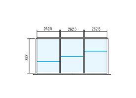 【仕切り板セット】ラテラル オプションパーツ INABA Line Unit TF 壁面収納ユニット用【W900×D450用 3分割タイプ】