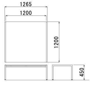 アイコ32センターテーブルCT650