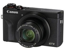 Canon PowerShot G7 X Mark III [ブラック]【お取り寄せ(4〜5週程度)での入荷、発送】