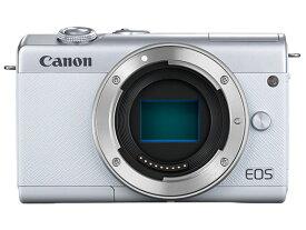 CANON EOS M200 ボディ [ホワイト]【お取り寄せ(メーカー取り寄せ/予約受付中)】※1〜2ヶ月