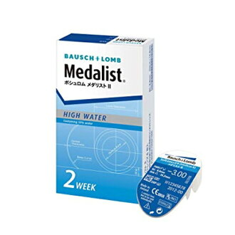 Prescription no Bausch & Lomb 2 week 2 week softens medalist 2 1 box 6 pieces into two weeks disposable clear contact lenses BC8.6 (contact lenses) (contact) (2 week) (2 medal) (2 Olympic medalists)
