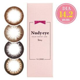 カラコン ヌーディーアイ ワンデー 1箱10枚 度あり 度なし Nudy eye 1day 1日使い捨て ナチュラルカラコン カラーコンタクト コンタクトレンズ