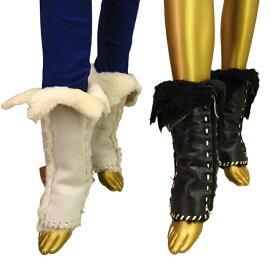 【あす楽】 Malibu Cowboy - Wrap Boots. Leg Boots. Leg Warmer.(マリブ カウボーイ) ラップブーツ. レッグブーツ. レッグウォーマー. ハンドメイド