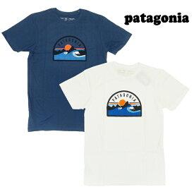 【あす楽】 Patagonia Men's Boardie Badge Organic T-Shirt / 38424 / TEE / T-SHIRT / パタゴニア Tシャツ / ボーディー バッジ オーガニック Tシャツ