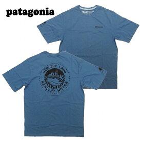 【あす楽】 Patagonia Men's Safeguard Stencil World Trout Organic T-Shirt / 38534 / TEE / T-SHIRT / パタゴニア Tシャツ / メンズ セーフガード ステンシル ワールド トラウト オーガニック Tシャツ