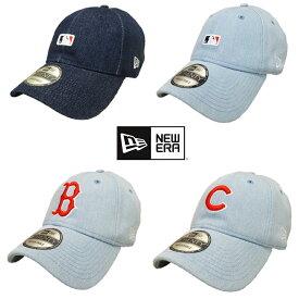 【あす楽】 New Era × LEVIS コラボレーション 9TWENTY ADJUSTABLE CAP - ニューエラ / MLB アジャスタブル キャップ / カブス / レッドソックス / BATTERMAN / Baseball Cap / リーバイス / DENIM CAP / LS920