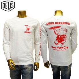 【あす楽】Deus ex machina Entree tee / DMP61018A / L/S TEE / T-SHIRT / デウス エクス マキナ Tシャツ(長袖)