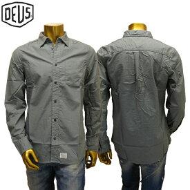 【あす楽】Deus ex machina Ralph LS Overdyed Shirt / DMP65906 / デウス エクス マキナ シャツ / 長袖 シャツ