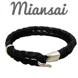 Miansai(miansai)Beacon Leather Bracelet手镯MB00005L