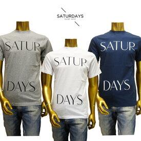 【あす楽】SATURDAYS SURF NYC (サタデーズ サーフ ニューヨーク) Spaced Tee T-SHIRTS (Tシャツ) 415SPACED