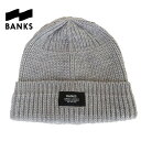 【あす楽】BANKS(バンクス) MARK BEANIE - ACCESSORIES (MENS) / ビーニー / ニット帽 / Knit Cap / BE0015