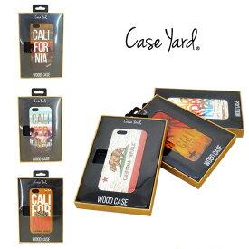 【あす楽】訳あり Case Yard (ケースヤード) WOOD CASE / CALIFORNIA / カリフォルニア / SURF / サーフ / ロサンゼルス / ウッドケース - iPhone6/6S / アイフォン6/6S ケース / iPhoneケース / 表(木製)裏(ポリカーボネート)