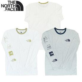 【あす楽】THE NORTH FACE MENS LONG SLEEVE LOGO-LUTION TEE / M L/S LOGO-LUTION TEE / ザ・ノース・フェイス / LOGOLUTION TEE / LONG SLEEVE / ロングスリーブ Tシャツ / 長袖Tシャツ / NF0A4AAL