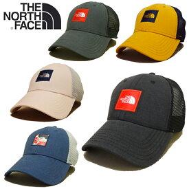 【あす楽】THE NORTH FACE TNF BOX LOGO TRUCKER / HATS / CAP / ザ・ノース・フェイス / Mesh Cap (メッシュキャップ) / ロゴ トラッカー / スナップバック / 帽子 / NF0A3FKX