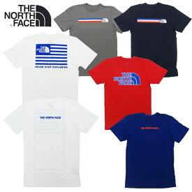 【あす楽】THE NORTH FACE M S/S USA BOX TEE / MENS NEW SHORT SLEEVE USA BOX TEE / LOGO / ザ・ノース・フェイス / USA ボックス ショートスリーブ ティー / Tシャツ / 半袖Tシャツ / ショートスリーブ / NF0A55TA