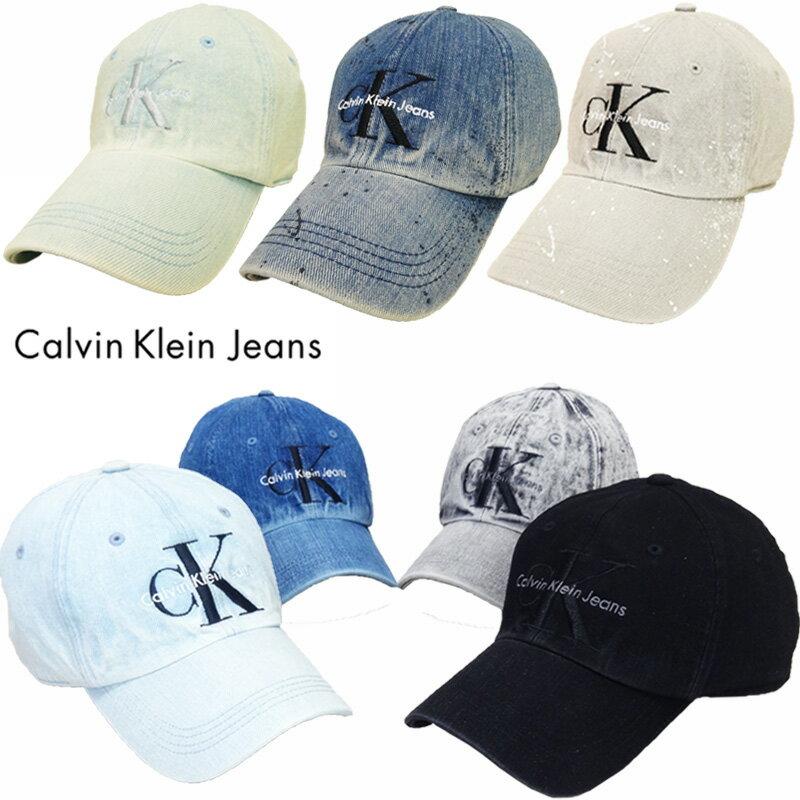 【あす楽】Calvin Klein Jeans (カルバンクライン ジーンズ) Logo Cap / ロゴ キャップ / Logo Hat / ロゴ ハット / Denim Cap / デニム キャップ / ユニセックス / キャップ / 帽子 / 41VH900 / 41GH900 / 41YH905 / 41EH912 / 41EH913 / 42EH922 / 41VH902