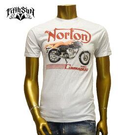 【あす楽】Fifth Sun (フィフス サン) Norton Motorcycles T-SHIRT / S/S / Men's Tシャツ / 半袖